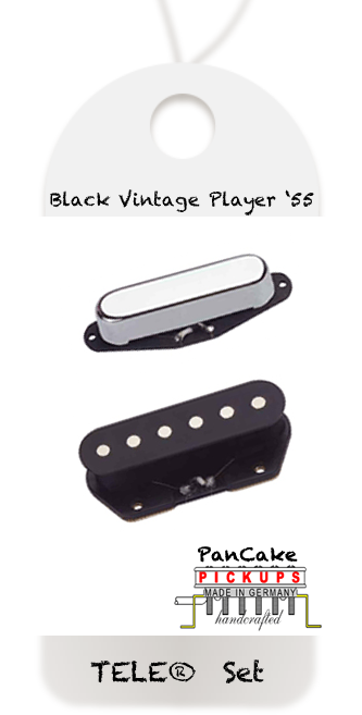 PanCake Black Vintage Player '55 Set