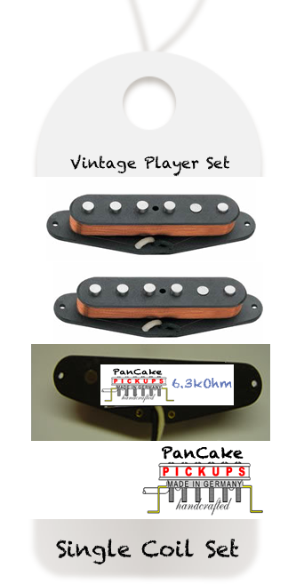 PanCake Vintage Player Set